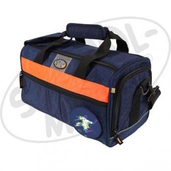 School-Mood Sporttasche - Fussball - blau