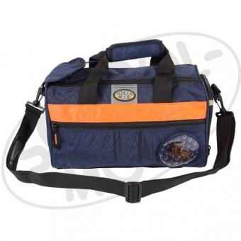 School Mood Sporttasche (klein) - Stute, blau crincle