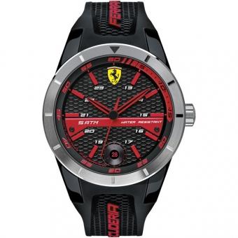 Scuderia Ferrari RED REV T 0830253 Herrenuhr, schwarz