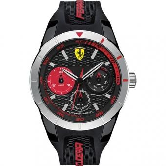 Scuderia Ferrari RED REV T 0830254 Herrenuhr, schwarz