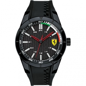 Scuderia Ferrari RED REV 0830301 Herrenuhr, schwarz
