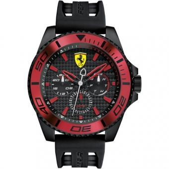 Scuderia Ferrari XX KERS 0830310 Herrenuhr, schwarz