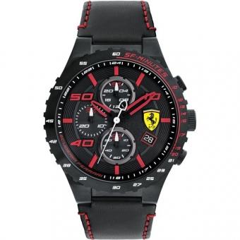 Scuderia Ferrari SPECIALE EVO 0830363 Herrenuhr, schwarz
