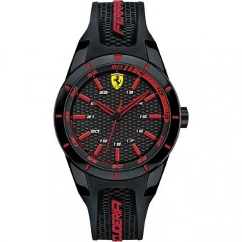 Scuderia Ferrari RED REV 0840004 Herrenuhr, schwarz