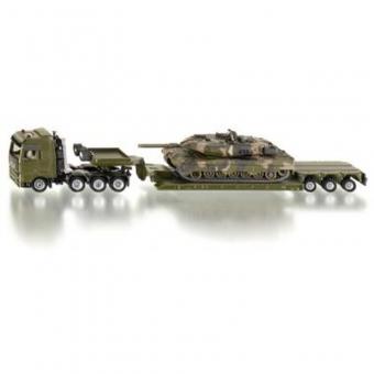 Siku 1872 - Tieflader mit Panzer