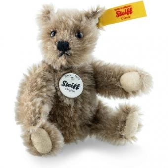 Steiff 009167 Classic 1950 Teddybär, Mohair, 10 cm, caramel