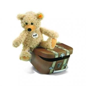 Steiff 012938 Charly Schlenker-Teddybär im Koffer