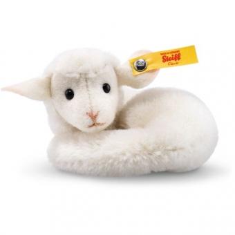 Steiff 033575 Mini Lamby Lamm, Alpaca, 9 cm, weiß