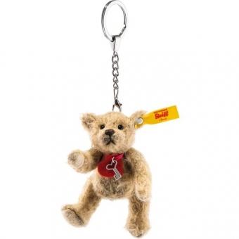 Steiff 039386 Anhänger Tiny Teddybär, Mohair, 10 cm, milchkaffee