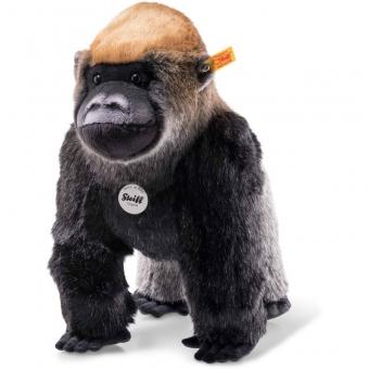 Steiff 062216 Protect Me Boogie Gorilla, Plüsch, 35 cm, grau
