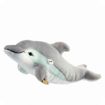 Steiff 063183 Cappy Delphin, 35 cm, grau/weiss