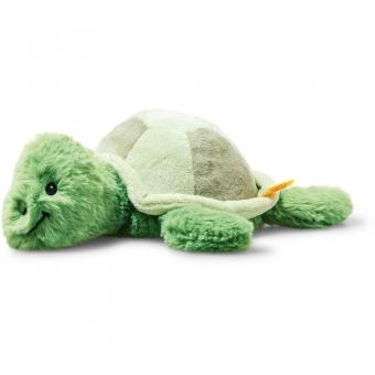 Steiff 063855 Soft Cuddly Friends Tuggy Schildkröte, Plüsch, 27 cm, grün