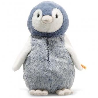 Steiff 063961 Soft Cuddly Friends Paule Pinguin, Plüsch, 30 cm, blau/weiß