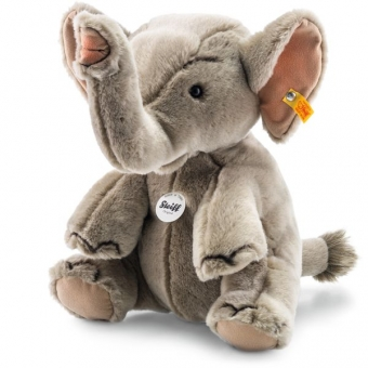 Steiff 064579 Hubert Elefant, Webpelz, 30 cm, grau
