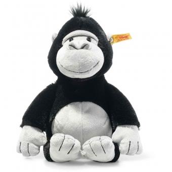 Steiff 069116 Bongy Gorilla, Plüsch, 30 cm, schwarz/hellgrau