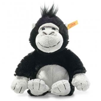 Steiff 069130 Bongy Gorilla, Plüsch, 20 cm, schwarz/hellgrau