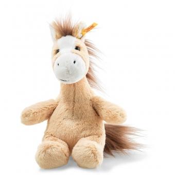 Steiff 073441 Soft Cuddly Friends Hippity Pferd, Plüsch, 18 cm, blond