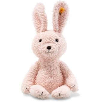 Steiff 080760 Soft Cuddly Friends Candy Hase, Plüsch, 40 cm, rosa