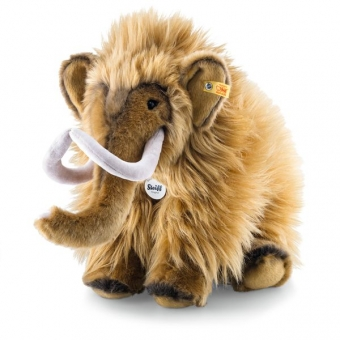 Steiff 082429 Mimmi Mammut, Plüsch, 38 cm, rotbraun