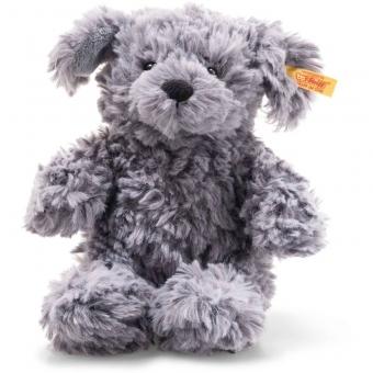 Steiff 083563 Soft Cuddly Friends Toni Hund, Plüsch, 18 cm, blaugrau