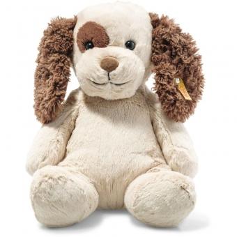Steiff 083617 Peppi Welpe, Plüsch, 38 cm, creme/braun