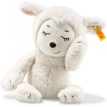 Steiff 103193 Soft Cuddly Friends Sugar Lamm, Plüsch, 30 cm, weiß