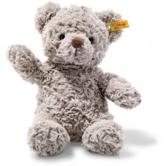 Steiff 113420 Soft Cuddly Friends Honey Teddybär, Plüsch, 28 cm, grau