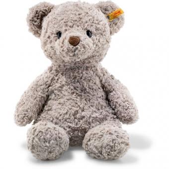 Steiff 113437 Soft Cuddly Friends Honey Teddybär, Plüsch, 38 cm, grau