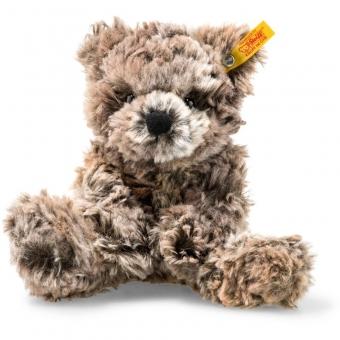 Steiff 113444 Soft Cuddly Friends Terry Teddybär, Plüsch, 20 cm, braun meliert