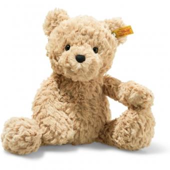 Steiff 113505 Soft Cuddly Friends Jimmy Teddybär, Plüsch, 30 cm, hellbraun