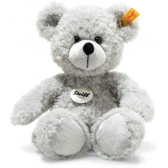Steiff 113789 Fynn Teddybär, Plüsch, 28 cm, grau