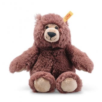 Steiff 113871 Bella Bär, Plüsch, 20 cm, rotbraun