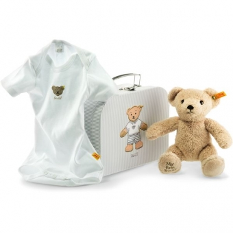 Steiff 240560 Geschenkset My first Steiff Teddybär, , 24 cm, beige
