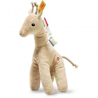 Steiff 242083 Tulu Giraffe, Plüsch, 20 cm, beige
