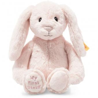 Steiff 242106 Hoppie Hase My First, Plüsch, 26 cm, rosa