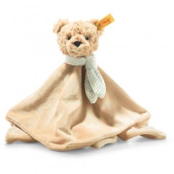 Steiff 242281 Teddybär Jimmy Schmusetuch, Plüsch, 26 cm, beige