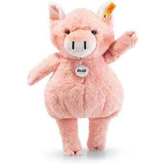 Steiff 283055 Happy Farm Pigilee Schwein, Plüsch, 35 cm, rosa