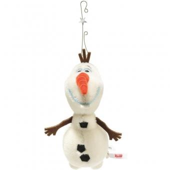 Steiff 355141 Disney Frozen Olaf Ornament, Mohair, 16 cm, weiß