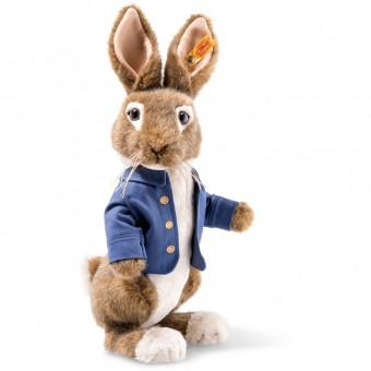 Steiff 355240 Peter Rabbit, Webpelz, 30 cm, braun/beige