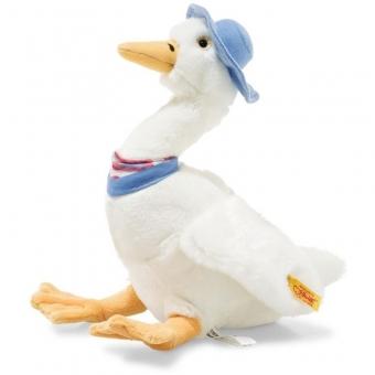 Steiff 355271 Jemima Puddle Duck, Plüsch, 27 cm, weiß