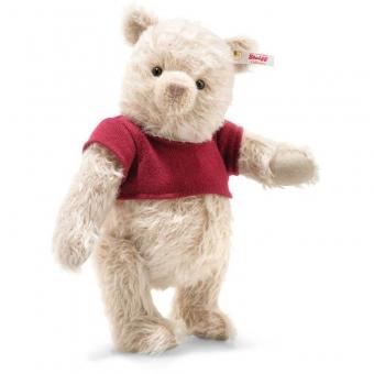 Steiff 355424 Disney Christopher Robin Winnie Puuh, Mohair, 30 cm, honig