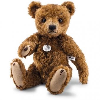 Steiff 403224 Teddybär 1906 Replica, Mohair, 40 cm, rotbraun