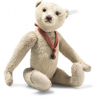 Steiff 421648 Teddybär Club Edition 2021, Plüsch, 30 cm, dunkelbeige