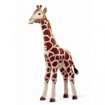 Steiff 502170 Studio Giraffe, 110 cm, blond gefleckt, stehend