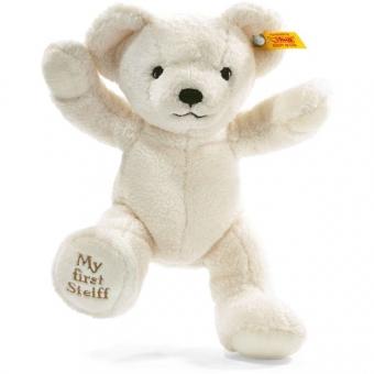 Steiff 664021 My first Steiff Teddybär, Plüsch, 24 cm, creme
