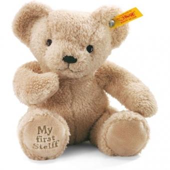 Steiff 664120 My first Steiff Teddybär, Plüsch, 24 cm, beige