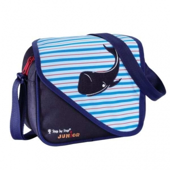 Step by Step Junior Kindergartentasche Alpbag Boys, Blue Whale