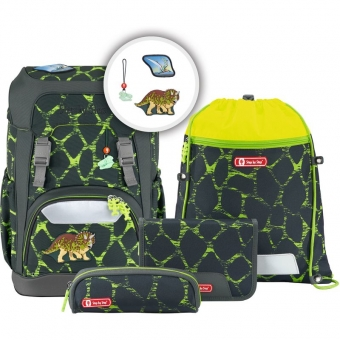 Step by Step GIANT Schulrucksack-Set, 5-teilig, Dino Life