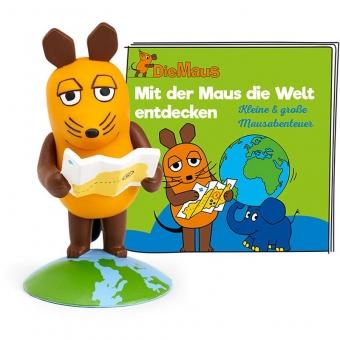 Tonies 01-0161 - Die Sendung mit der Maus - Mit Maus die Welt entdecken