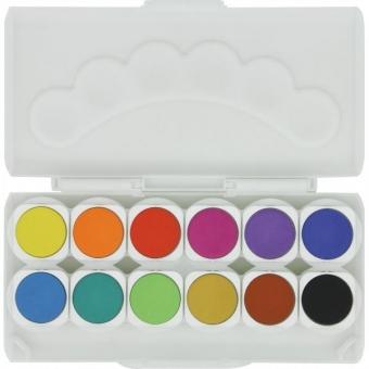 TopPoint Markendeckfarbkasten 12 Farben